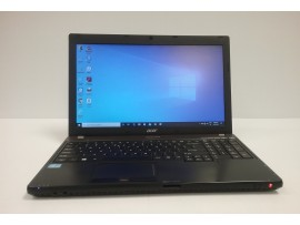 "Acer TM P653 Intel Core i7 HT Eight Core, 500 GB Hard Drive, 8 GB RAM, 15.6"" Screen, Win 10 Pro"