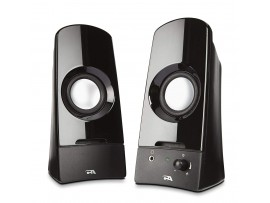 Cyber Acoustics CA-2050 Dynamic Curve Series Sonic 2.0 Powered Speaker System