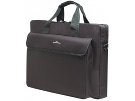 Manhattan 438889 London Notebook Computer Bag Black