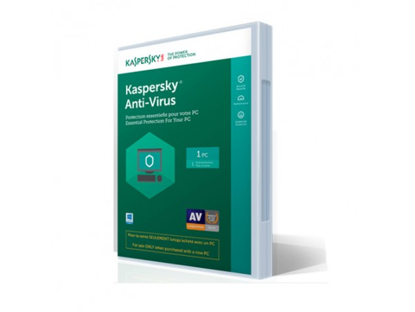 KASPERSKY ANTI-VIRUS - 1 USER - 1 YEAR