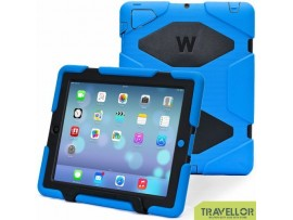 Ipad Case, Ipad 2/3/4 Case, Aceguarder® Design *New* [Snowproof] [Rainproof] [Dirtproof] [Shockproof] Cover Case with Stand Super Protection for Ipad 2/3/4 (Blue/Black)